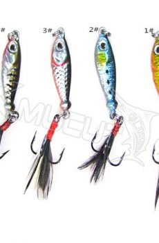 4 color lead lures