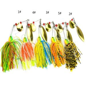 Rotated spinner bait