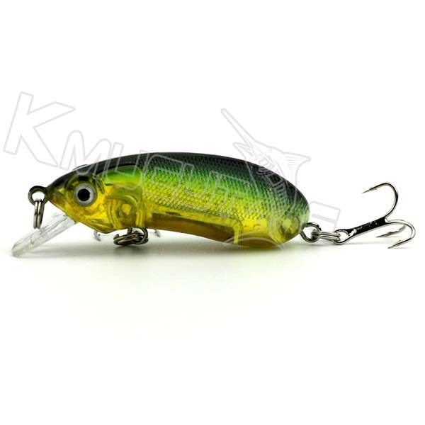8 colors minnow baits