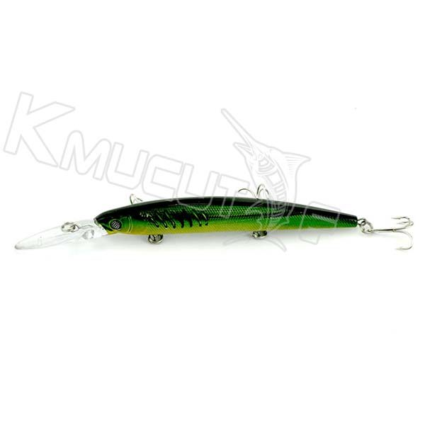 5 colors minnow baits