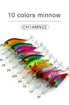 10 colors minnow 14cm 16gr
