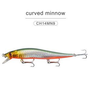 Colorful PVC minnow