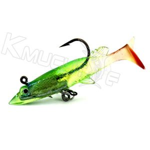 soft shad with lead