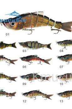 6 section herring