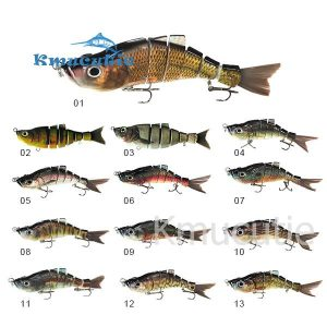 6 sections swimbait