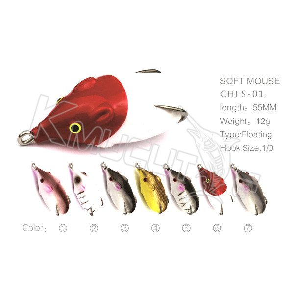 Hollow body mouse lure