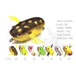 Hollow body cicada