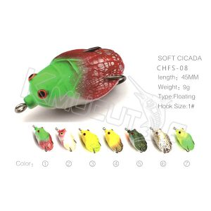 Floating cicada lure