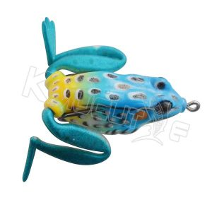 hollow colorful frog
