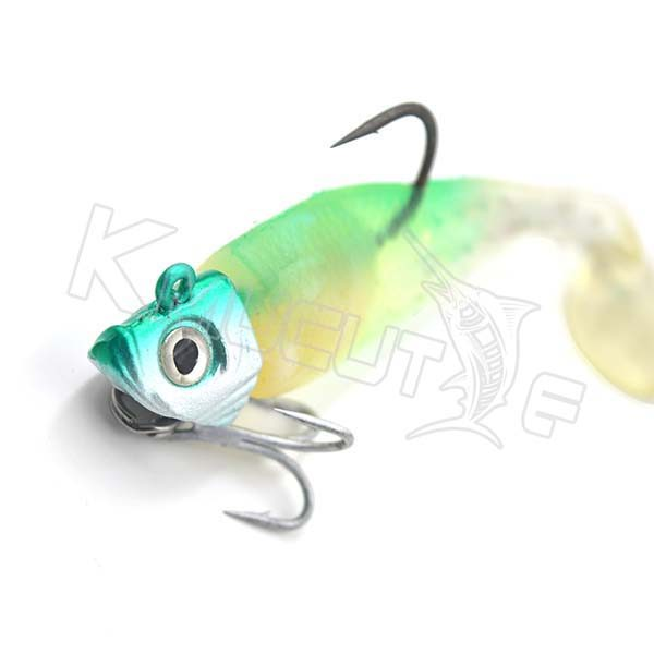 soft paddle tail lure