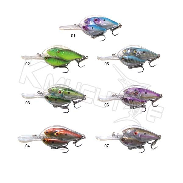 7 colors 3pcs crankball