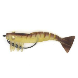 TPR Shrimp (5cm) CHS006 live shrimp lure VMC hooks