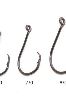 Tuna circle hooks