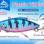 Plastic VIB Lure Fishing Bait Wholesale 31g/20g/16g/10g CHVI13