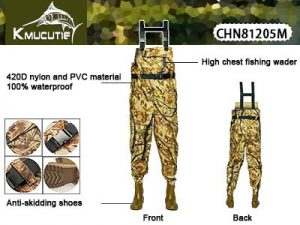 CHN81205M Chest Fishing Waders