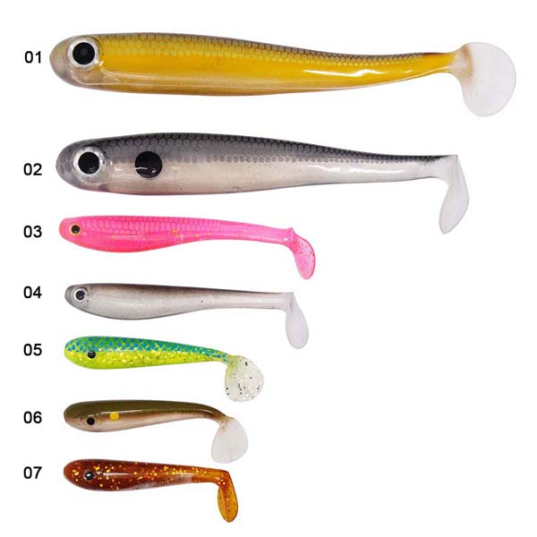 BASF material hollow body soft lure