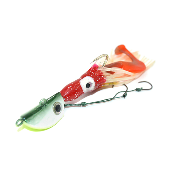 Kmucutie CHLP27 lead head soft squid snapper grouper jig