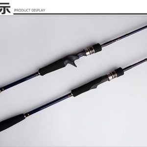KLU24—2PCS Jigging Rod Spinning/Casting with Sea-Guide Ring