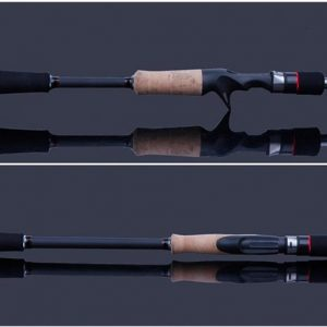 KLU23–2PCS lure Rod Spinning/Casting with Korean Guide Ring&3A cork handle