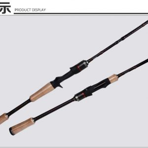 KB26–4PCS Sea Bass Rod Spinning/Casting with Fuji Guide Ring