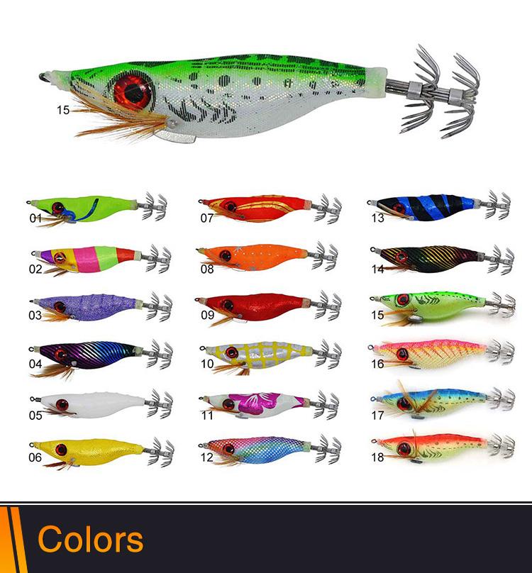 Fishing lures squid jigs CHS013