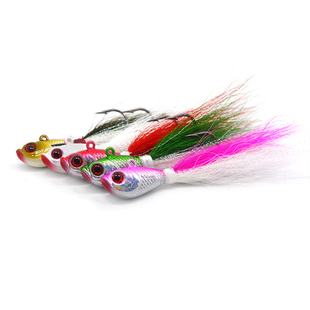 Welcome to order customized bucktail jigs